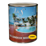 LIOS SUNDECK WOOD OIL LIGHT 1LT