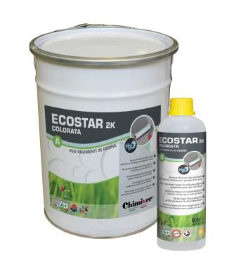 ECOSTAR 2K PER PAVIMENTI IN RESINA COLORATA 5.5LT