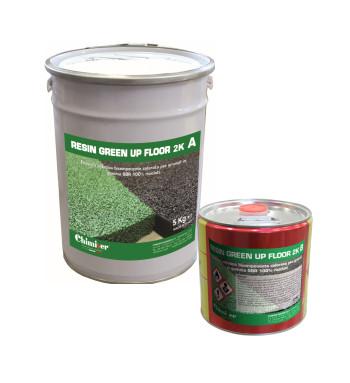 RESIN GREEN UP FLOOR 2K - 5+2.5 KG