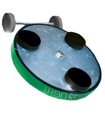 GEMINA 35 LIGHT (3X100 mm) DISCO PLANETARIO CON MINIGONNA POLVERI
