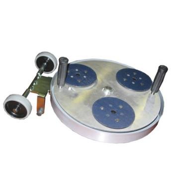 GEMINA 35 LIGHT (3X150 mm) DISCO PLANETARIO CON MINIGONNA POLVERI