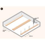Sottostruttura per Legni,Ultrashield e Decowood
